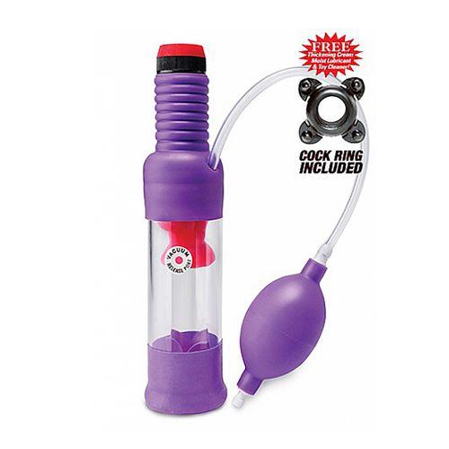 Head Job Vibrating Penis Pump