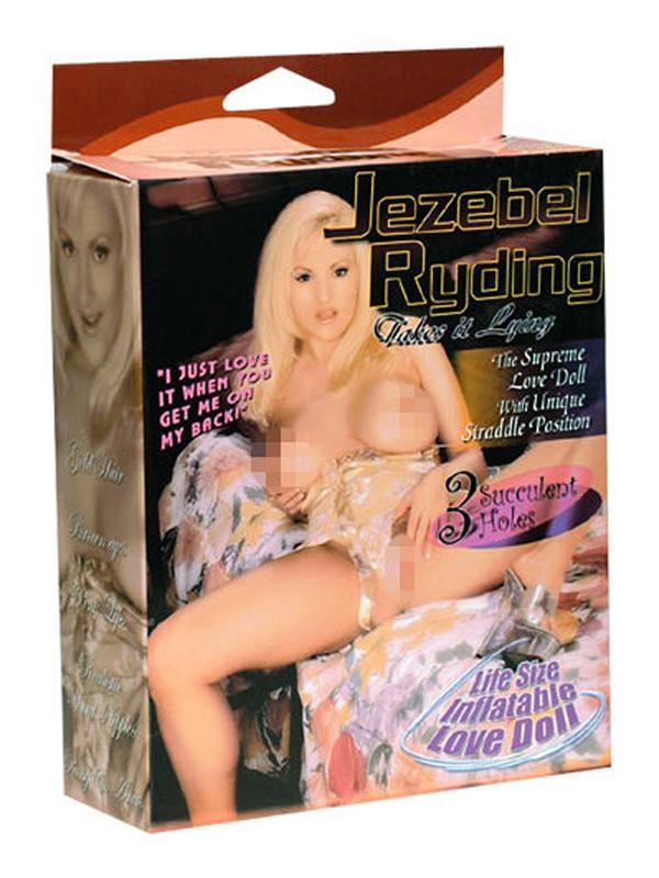 Jezebel Riding Doll