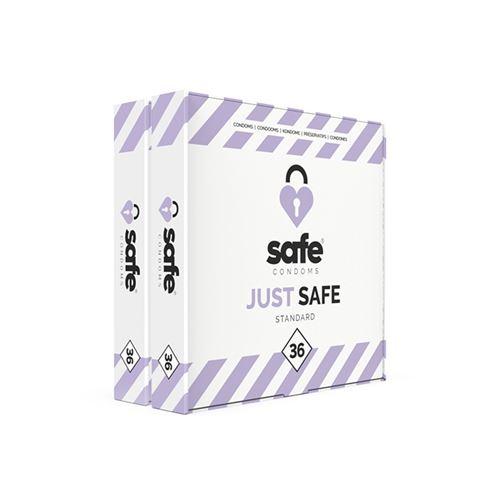 Just Safe Standaard Condooms - 72 stuks