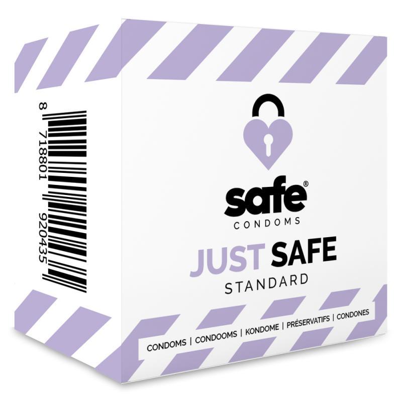 SAFE - Condooms Met Siliconen Glijmiddel - Standaard - 5 stuks