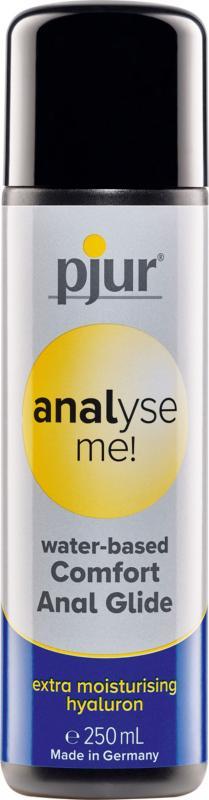 Waterbasis anaal glijmiddel Analyse me! - 250 ml